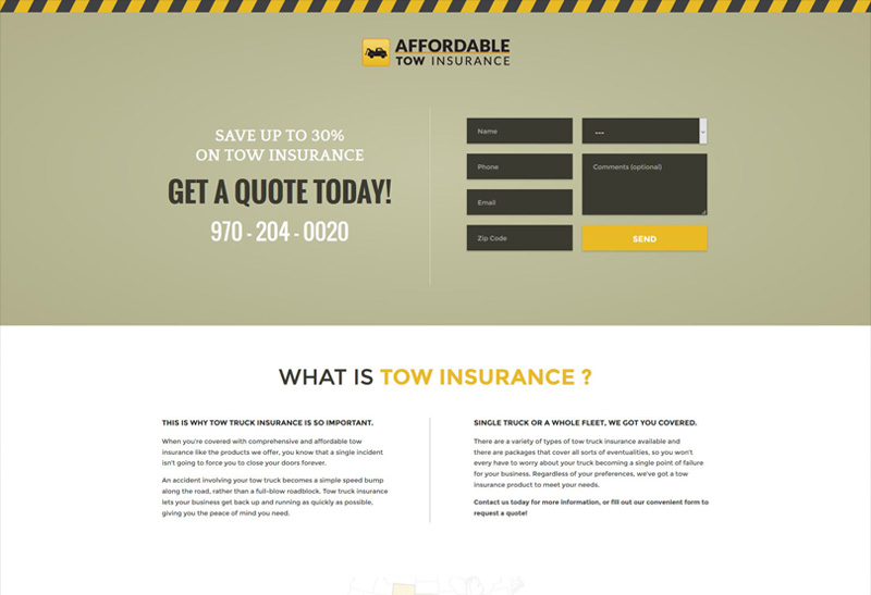 Affordable Tow Insurance